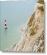 Seven Sisters Cliffs 16 Metal Print