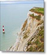 Seven Sisters Cliffs 17 Metal Print