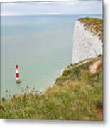 Seven Sisters Cliffs 19 Metal Print