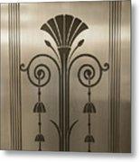Severance Hall Art Deco Door Detail Metal Print