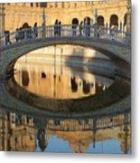 Seville, Spain Tile Bridge Metal Print