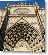Seville - The Cathedral Metal Print