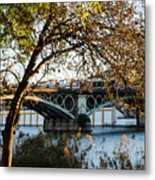 Seville - The Triana Bridge 2  Metal Print