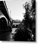 Seville - Triana Bridge Metal Print