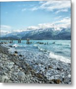 Seward Seashore Metal Print