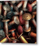 Sewing - Spools  Metal Print