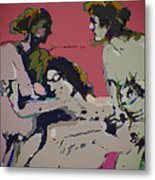 Sexual Anxiety Metal Print