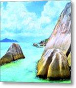 Seychelles Shallows Metal Print