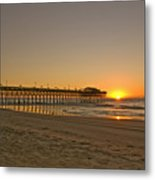 Sh213266 Garden City Sunrise Metal Print