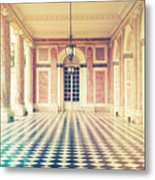 Shabby Chic Versailles Columns Of Grand Trianon Metal Print