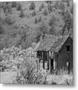 Shack On A Hill Metal Print
