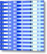 Shades Of Blue Highrise Metal Print