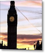 Shades Of London Metal Print