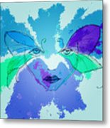 Shades Of The Butterfly Metal Print