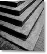 Shadow And Steps Metal Print