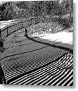 Shadow Beauty Metal Print