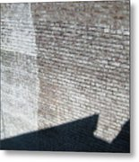 Shadow Brick Metal Print