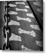 Shadow Chain Metal Print