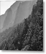 Shadow Cliffs Metal Print