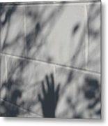 Shadow Hand Metal Print