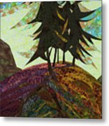 Shadow Of The Evening Metal Print