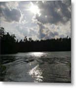 Shadow Of The Sun Metal Print