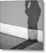 Shadows I Knew Metal Print