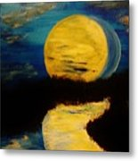 Shadows In The Moon Metal Print by Marie Bulger