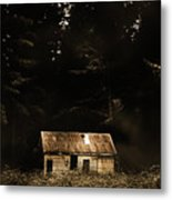 Shadows Of Mornings First Light Metal Print