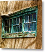 Shadows Of Taos Metal Print