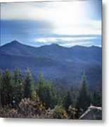 Shadows Of The Majestic , White Mountains Metal Print