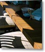 Shadows Series-9 Metal Print