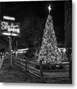 Shady Grove Austin Bw Metal Print