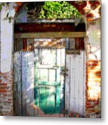 Shaft Of Sunlight By Darian Day Metal Print
