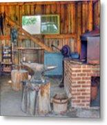 Shaker Blacksmith Barn Metal Print