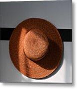 Shaker Hat Metal Print