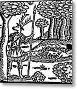 Shakespeare: Falstaff Metal Print