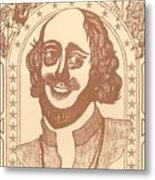 Shakespeare Metal Print