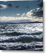 Shallows And Depths Of Adventure Bay Metal Print