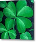 Shamrocks Metal Print