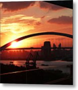 Shanghai City 12 Metal Print