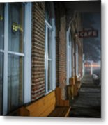 Shaniko Hotel And Cafe Metal Print