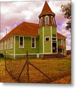 Shaniko School District Sixty Seven Metal Print