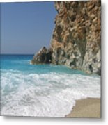 Shaped By The Sea  Metal Print