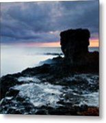 Shaped By The Waves Metal Print by Mike  Dawson