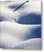 Shapes Of Winter Metal Print