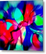 Shapes Our Lives Metal Print