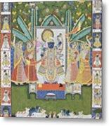 Sharad Utsav - V Metal Print