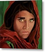 Sharbat Gula From Nat Geo Mccurry 1985 Metal Print