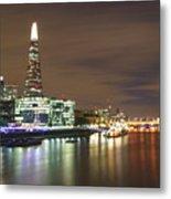 Shard From Tower Bridge London Metal Print